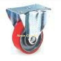 چرخ 75 ثابت پلی یورتان / PU