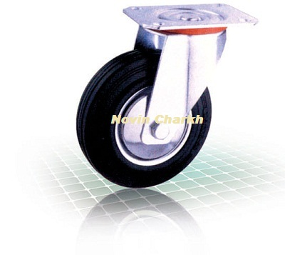 چرخ 125 گردان ورقی / RUBER