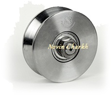 قرقره زیر دری 33×10 فولادی(نبشی خور)