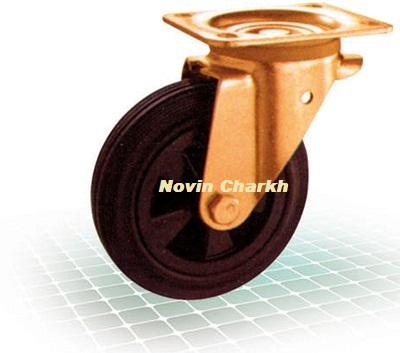 چرخ مکانیزه پلاستیکی بدون ترمز